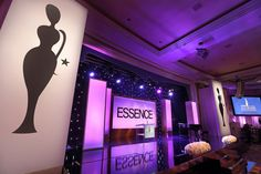 """'Essence' Black Women in Hollywood Pre-Oscars Luncheon: Flanking this year's larger stage, decked with illuminated decor pieces and a starry backdrop, were oversize representations of the Black Women in Hollywood statuette scooped up by the likes of Regina King and the cast of Orange Is the New Black. Common and John Legend added to the star wattage on stage with a performance of their song """"Glory"""" from Selma—which went on to win the Best Original Song award on the big night."""