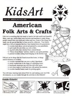 KidsArt American Folk Art