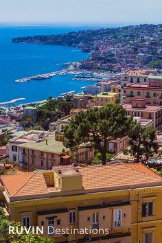 Naples | Italy #ruvindestinations #naples #italy © Nadezhada Kharitonova/shutterstock.com Destinations, Naples Italy, Mansions, House Styles, Home Decor, Wine, Napoli Italy, Decoration Home, Manor Houses
