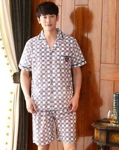 Mens Short Pajamas S M L XL 2X Choice Costume Xmas Solid /& More