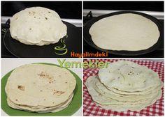 tavada ekmek tarifi Flatbread Pizza, Quesadilla, Lava, Pancakes, Eggs, Cheese, Breakfast, Kitchen, Food