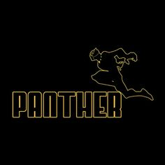 Black Panther Sports Wear Men's T-Shirt
