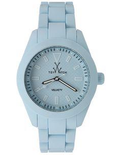 ToyWatch Midsize Velvety Baby Blue - Veltvety Touch Silicone Link Bracelet