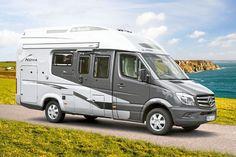 Supercheck Hymer ML-T 560: Stern, auf den ich schaue - PROMOBIL Caravan Equipment, Camping Con Glamour, 4x4, Hymer, Camper Caravan, Marco Polo, Caravans, Campervan, Van Life