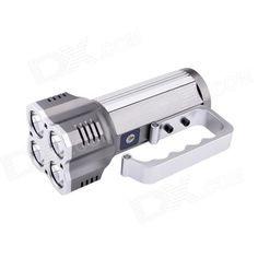 UltraFire S4 Portable 4-LED 4-Mode 2800lm White Flashlight - Grey + Silver (4 x 18650). Note: We are currently unable to ship to addresses in HongKong, mainland of China.. Tags: #Lights #Lighting #Flashlights #LED #Flashlights #18650 #Flashlights