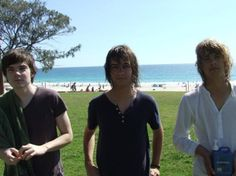 who would've thought that these 3 young guys would be my favorite guys, like ever? Music sounds better with them :D