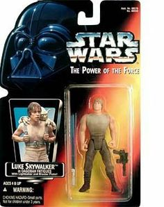 STAR WARS POWER OF THE FORCE LUKE SKYWALKER IN DAGOBAH FATIGUES AND LONG LIGHTSABRE FIGURE by KENNER, http://www.amazon.com/dp/B000A8NQAS/ref=cm_sw_r_pi_dp_7lr5qb1AF07GB