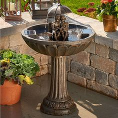 solar fountains hayneedle - HD 1600×1600
