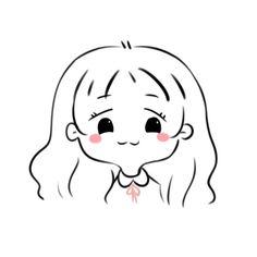Cute Little Drawings, Cute Easy Drawings, Kawaii Disney, Kawaii Art, Anime Child, Anime Art Girl, Chibi Wallpaper, Cute Sketches, Cartoon Girl Drawing