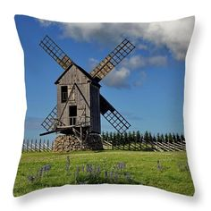 Old historical windmill in summer. Insert Image, Pillow Sale, Travel Photographer, Basic Colors, Beautiful Artwork, Windmill, Color Show, Beverly Hills, Countryside