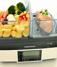 Parowar Morphy Richards 48775 Compact Intellisteam w akcji. ;-)