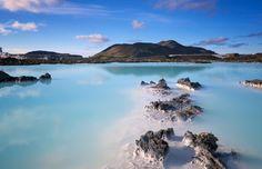 Não, não é um sonho: é a Lagoa Azul, em Grindavik, na Islândia #momondo