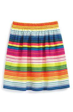 Peek 'Chica' Stripe Skirt (Toddler Girls, Little Girls & Big Girls) available at #Nordstrom