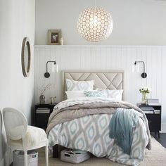 28 Best Bedroom Ceiling Lights To Update Your Decoration - InteriorSherpa Bedroom Ceiling, Bedroom Lighting, Ceiling Lamp, Bedroom Decor, Ceiling Lights, Light Design, Rustic Style, Modern Bedroom, Improve Yourself