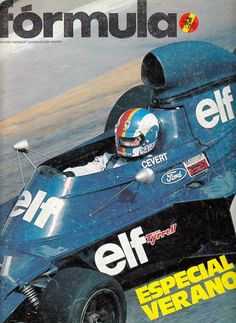 Francois Cevert, the team mate of Jackie Stewart from 1970-1973 in the Tyrrell F1 team