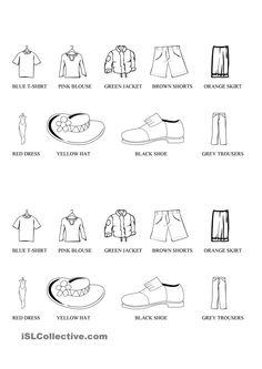 Clothes colouring