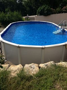 Intex Above Ground Pool Landscaping Ideas intex 15 foot x 48 inch metal frame pool set - intex recreation
