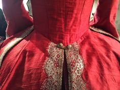 """Even the extras wear corsets. 