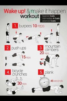 Great quick intense workout