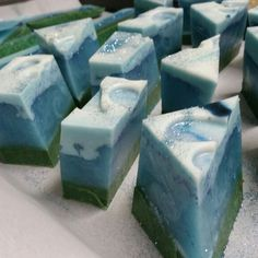 Blue Chamomile with jasmine flowers.  Beautiful to process!