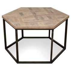 Riverside Furniture Thornhill Hexagon Cocktail Table