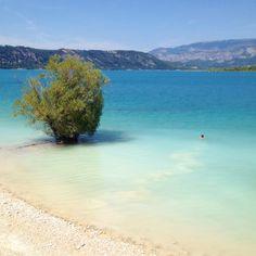 Lac de Sainte-Croix, Provence. Love this place. LOVE.
