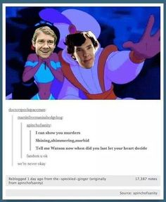 I don't know which fandom is more insane.  Sherlock, Supernatural or Doctor Who.  This, though...this just put Sherlock in first place...for now.