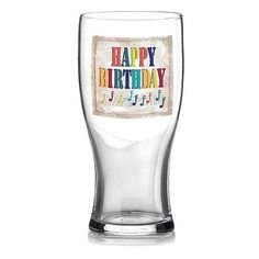 Happy birthday drinks #glass drinking present gift beer #lager pint bitter #boxed,  View more on the LINK: 	http://www.zeppy.io/product/gb/2/201605938625/