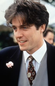 Hugh Grant for Four Weddings and a Funeral