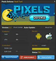Pixels Defense Hack