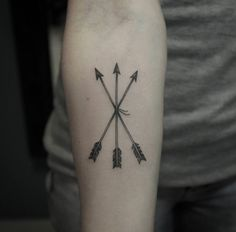 Three arrows by Marquinho Andre