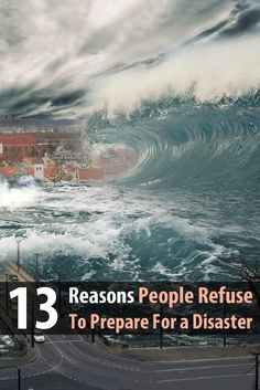 It should be obvious that having a few emergency supplies is a good idea, yet most people still refuse to prepare. Here are 13 reasons.