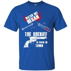 The Walking Dead T shirts Watch Out Negan Hoodies Sweatshirts