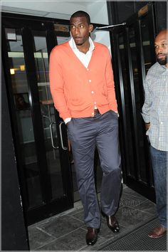 Amare Stoudemire. Great sweater