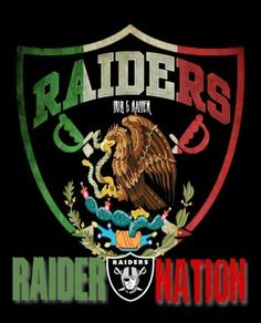 Raiders nation in Mexico Oakland Raiders Logo, Okland Raiders, Raiders Pics, Oakland Raiders Images, Raiders Stuff, Raiders Baby, Raider Nation, Mexican Flags, Mexican Art