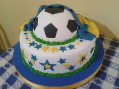 imagen de torta de equipos de futbol
