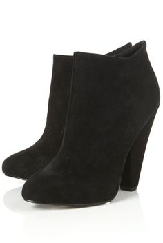love these black suede ankle boots