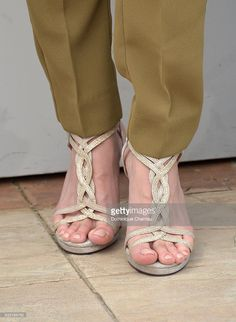 Taraneh Alidoosti, shoe detail, attends 'The Salesman (Forushande)' Photocall during the 69th annual Cannes Film Festival at the Palais des Festivals on May 21, 2016 in Cannes, France.