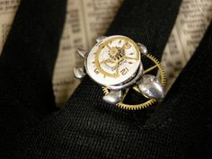 Steampunk Turtle Ring  FREE SHIPPING in USA by FernStreetDesigns, $26.00