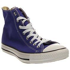 Converse CT HI Purple Womens Trainers 35 EU - http://on-line-kaufen.de/converse/purple-converse-chuck-taylor-all-star-high-season