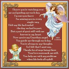 angels quotes and sayings | Julia's Daily Quotes, Words Of Inspiration And More: My Guardian Angel