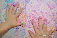 Fluffy Bath Tub Paint