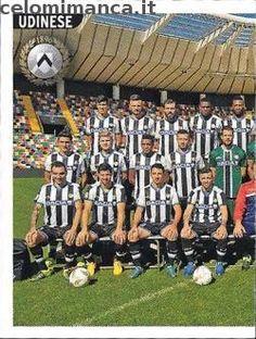 Calciatori 2015-2016: Fronte Figurina n. 559 Squadra/1 Udinese