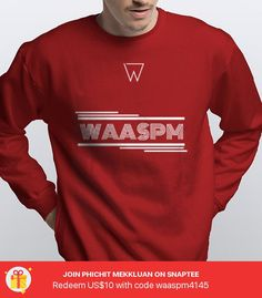 WAARED Pullover - Pullover Sweatshirt - designed by waas_pm using Snaptee