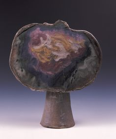 """Jerry Rothman, """"Sky Pot"""", 1960, Stoneware, 8½in. x 25in. x 9in."""