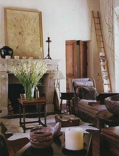#DHPin2Win Rose Tarlow. Love this house for how all of the interesting elements fit together.