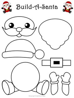 Printable Snowman Craft with FREE Template