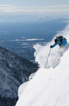 Go find some steep slopes