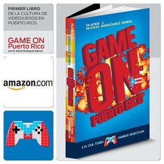 Ya está a la venta por #amazon !! Primer libro de la Cultura de #videojuegos en #PuertoRico por el Dr. Alexis Rodríguez Ramos  #gaming #gamers #videogames @amazon