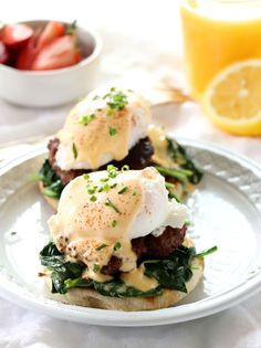Ultimate Eggs Benedict Ultimate Eggs Benedict is not your average traditional Eggs Benedict. Forget about what you've heard about the Canadian bacon or the traditional hollandaise. This is my take on this delicious breakfast treat. Breakfast Desayunos, Breakfast Items, Breakfast Dishes, Breakfast Recipes, Breakfast Sandwiches, Mexican Breakfast, Egg Recipes, Brunch Recipes, Cooking Recipes